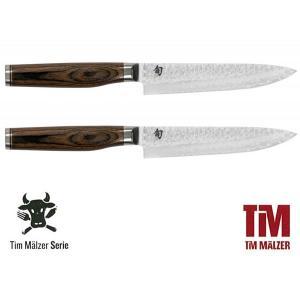 SHUN TIM MÄLZER Set steakových nožů, délka ostří 9 cm, 2 ks