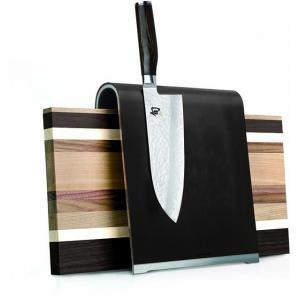 Magnetický blok na nože KAI - kůže, hliník
